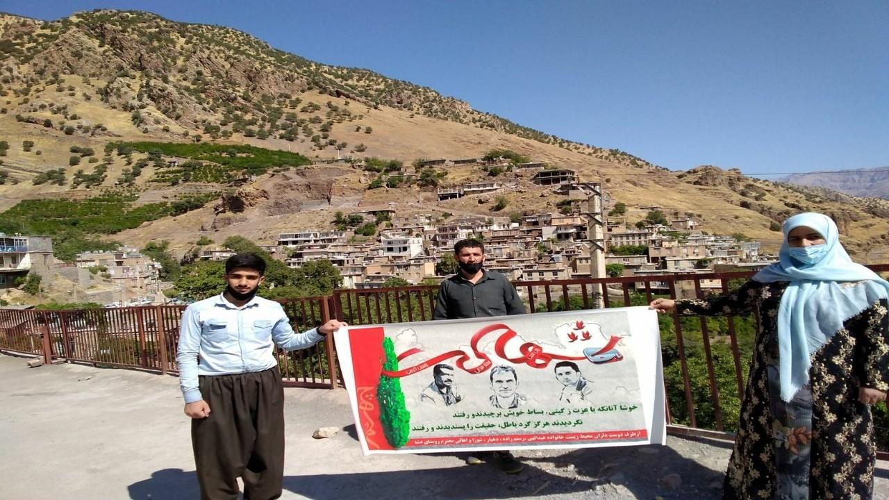 گرامیداشت یاد شهیدان سبز پاوه در کوردستان